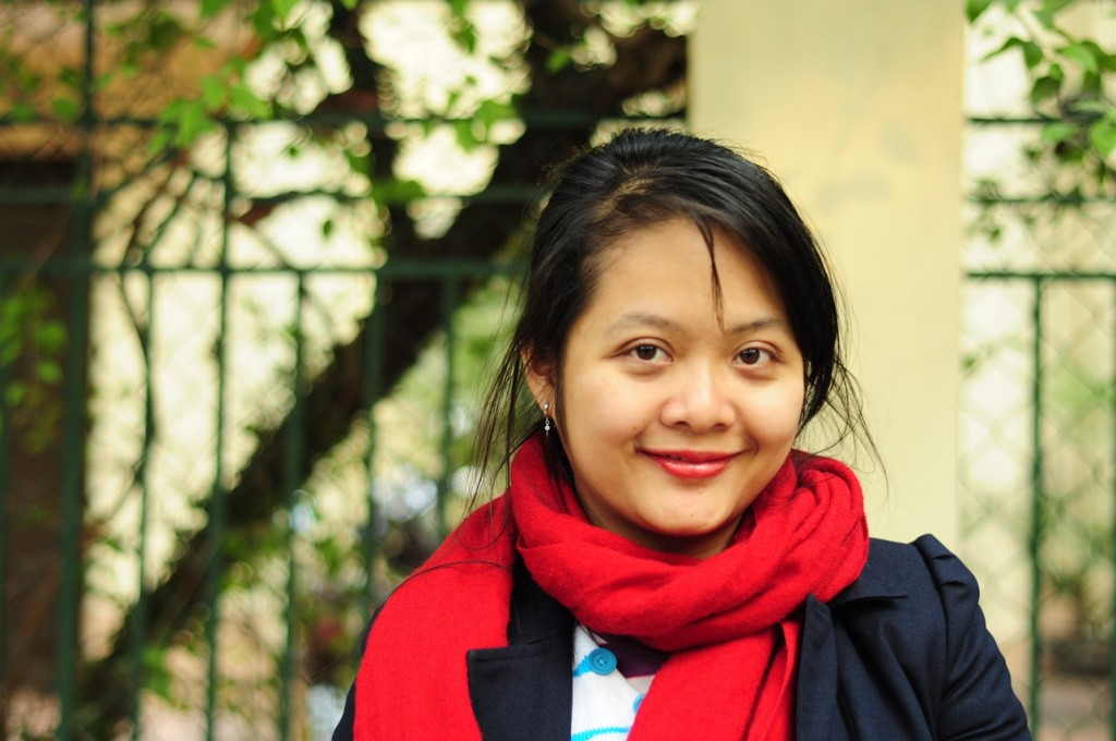 Pham Thi Ngoc Mai, from Vietnam, is a 2014 Project Inspire finalist.